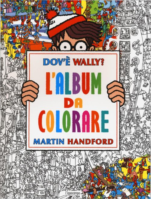 Dov'è Wally? L'album da colorare.