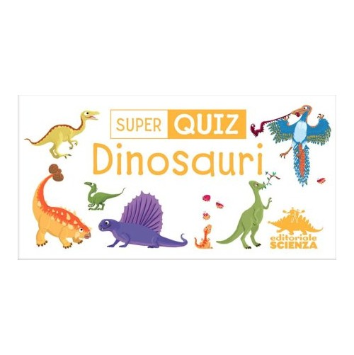 Super quiz. Dinosauri. Con carte.