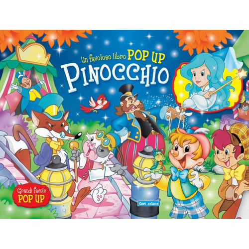 Pinocchio. Libro pop-up.