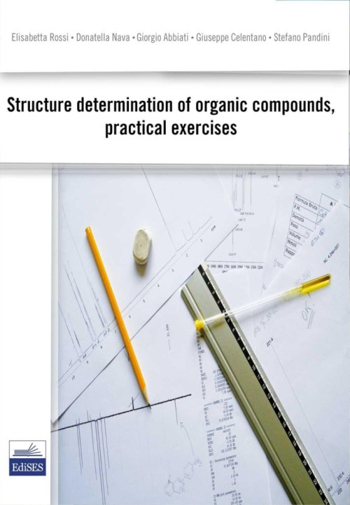 Structure determination of organic compund, pratical exercises.