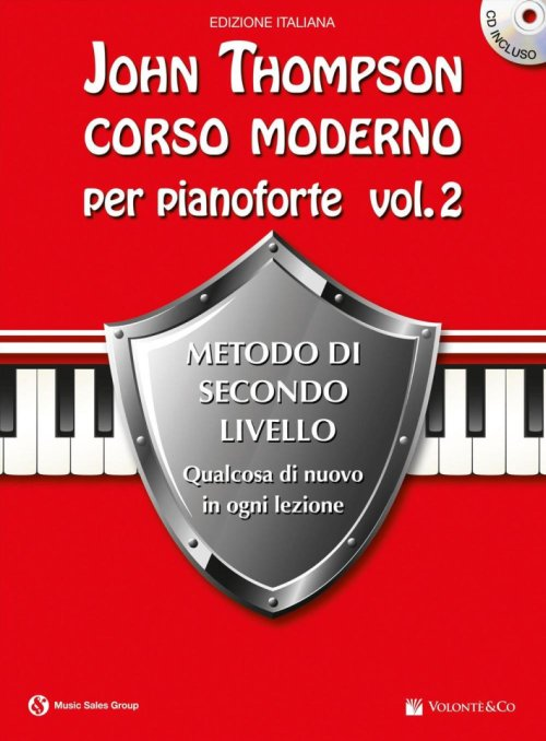 Corso moderno per pianoforte. Con CD Audio. Vol. 2.