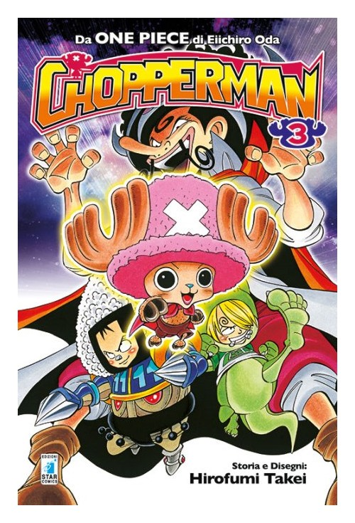 Chopperman. Vol. 3.