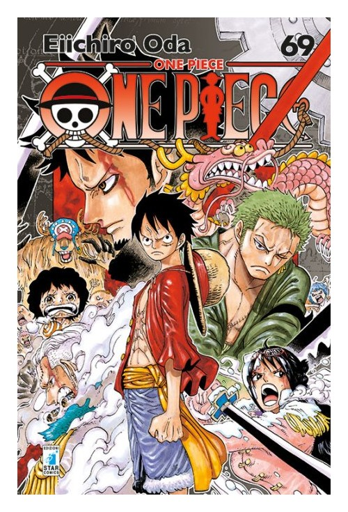 One piece. New edition. Vol. 69.