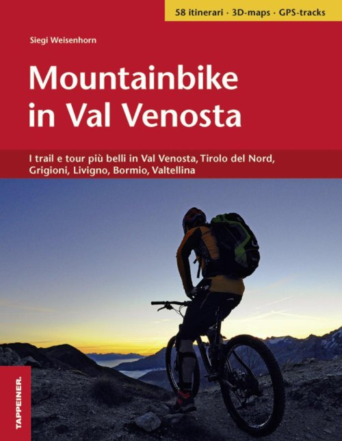 In mountainbike per la Val Venosta.