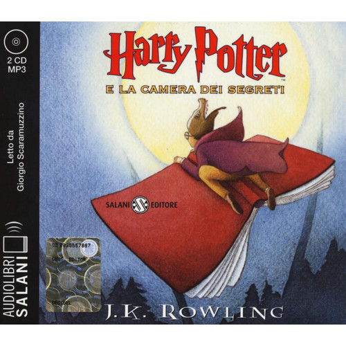 Harry Potter e la camera dei segreti. Audiolibro. 2 CD Audio formato MP3. Ediz. integrale.