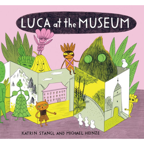 Luca at the museum.