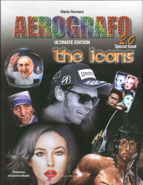 Aerografo 2.0. The icons.