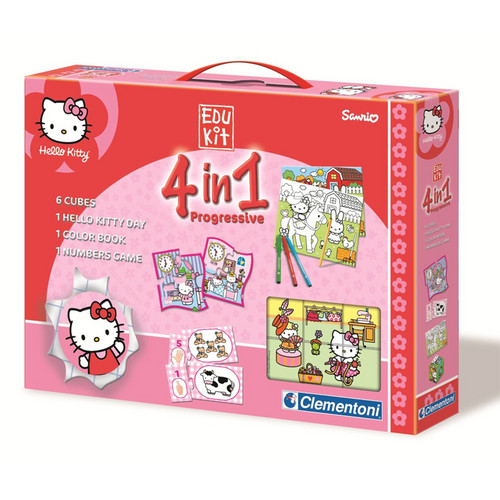 Edukit 4 in 1 Hello Kitty (Clementoni 12655).