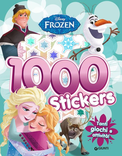 Frozen. 1000 stickers.