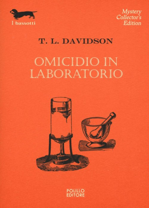 Omicidio in laboratorio.