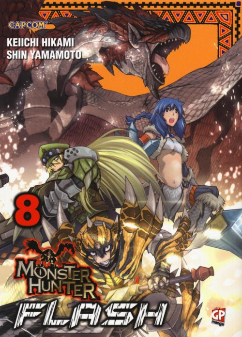 Monster Hunter Flash. Vol. 8.