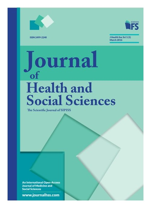 Journal of health and social sciences. March 2016.