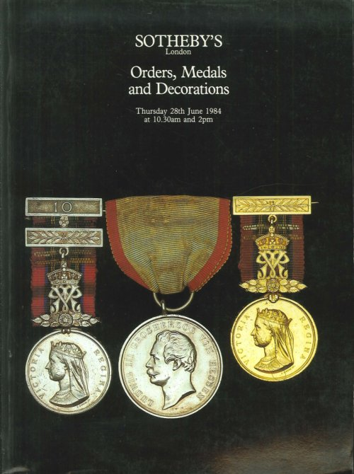 Orders Medals and Decorations.