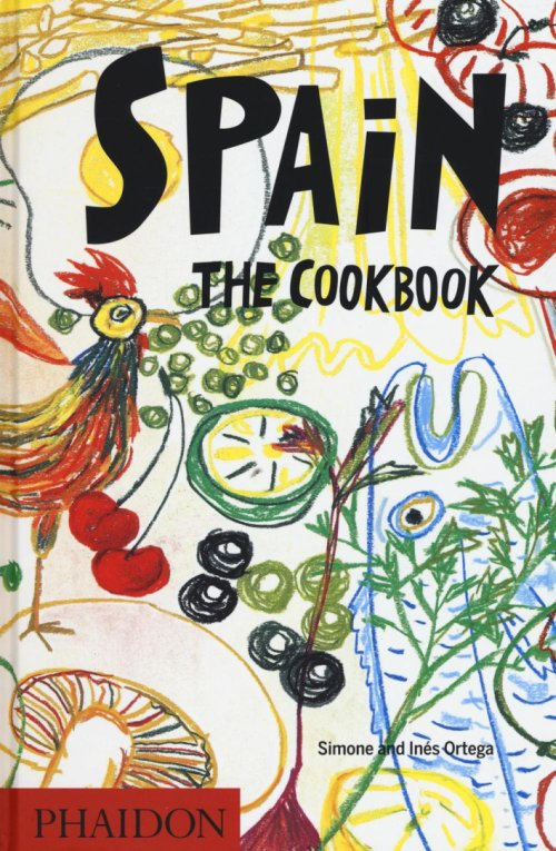 Spain the cookbook.