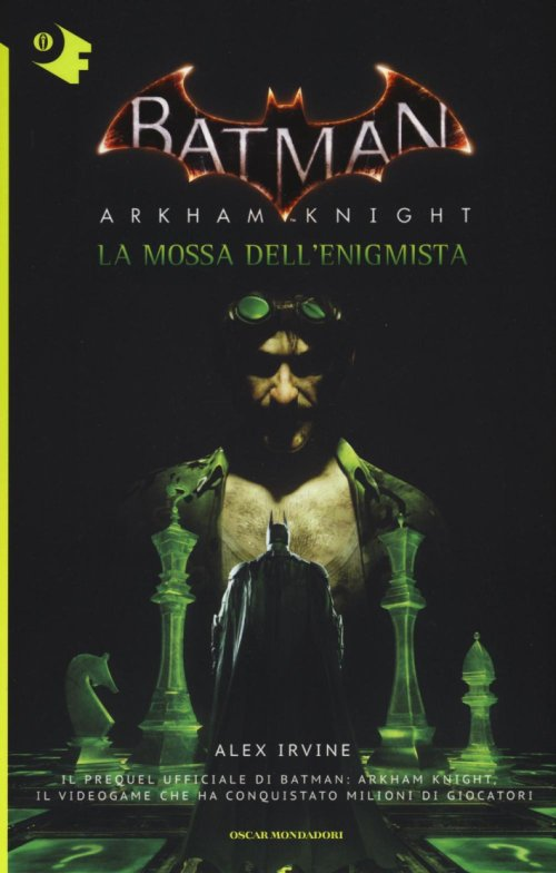 La mossa dell'Enigmista. Batman. Arkham Knight.