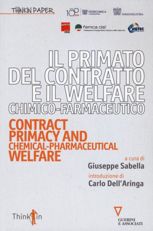 Primato contratto Welfare chimico-farmaceutico.