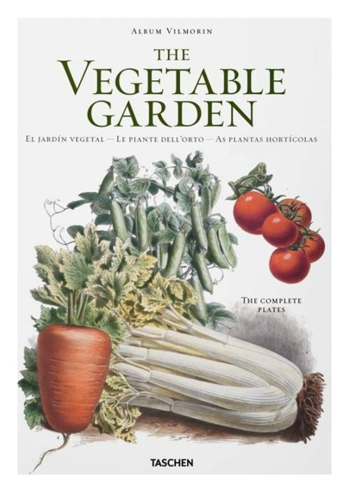 Vilmorin, vegetable garden. Ediz. italiana, spagnola e portoghese.