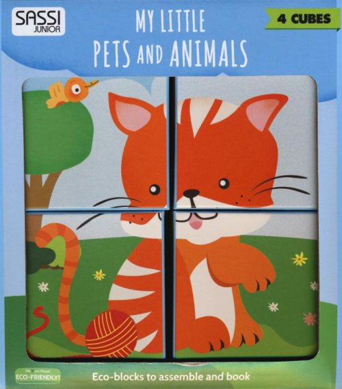 My little pets and animals. Eco-cubotti.