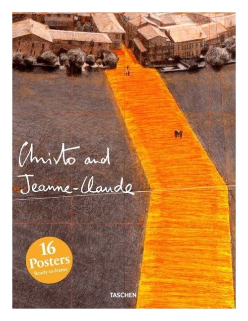 Print set Christo and Jeanne-Claude.