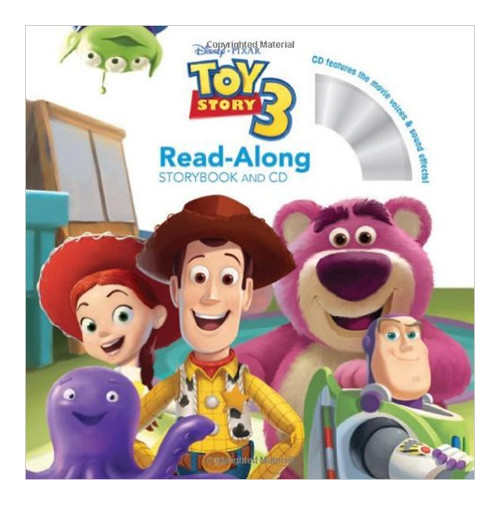 Toy Story 3. Read-Along. Storybook and CD.