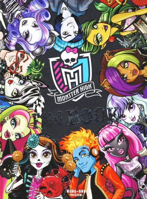 Fan book. Monster High.