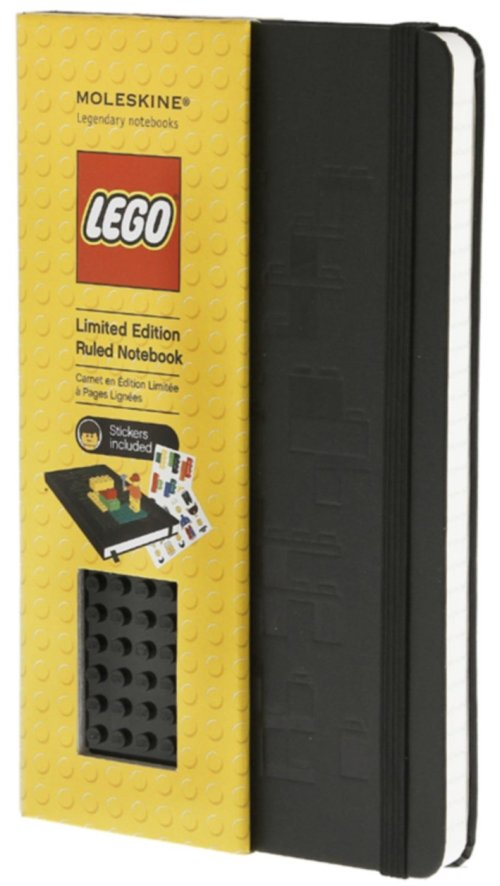 Moleskine LEGO Limited Edition Notebook, Large, Ruled, Black.