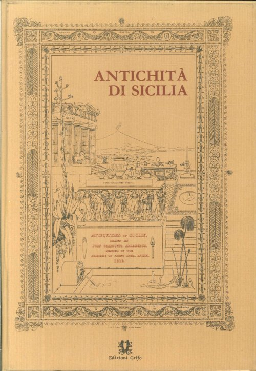 Antichita' Di Sicilia. Antiquies of Sicily. Drawn by John Goldicutt.