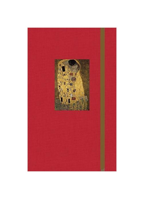Notebook Gustav Klimt: The kiss.