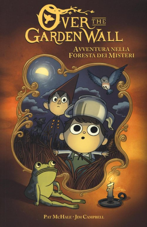 Avventura nella foresta dei misteri. Over the Garden Wall.