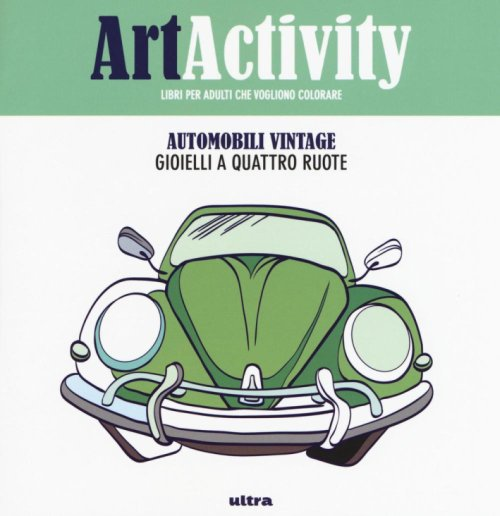 Art activity pocket. Automobili vintage.
