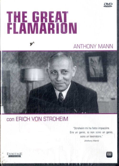 The Great Flamarion Erich Von Stroheim DVD Film.