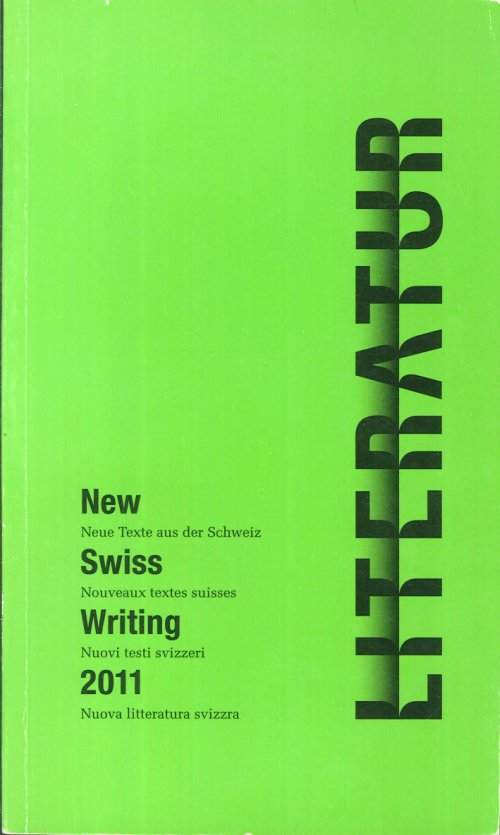 New Swiss Writing 2011.