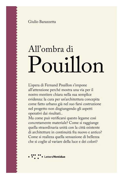 All'Ombra di Pouillon.