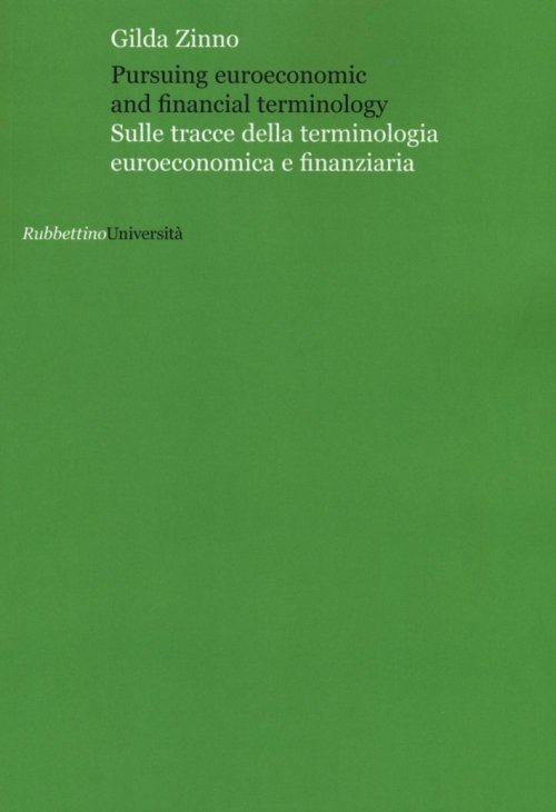 Pursuing euroeconomic and financial terminology.