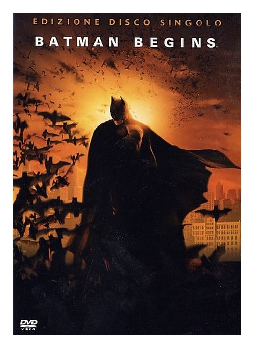 Batman Begins DVD.