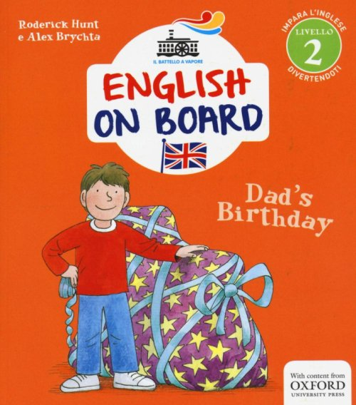 Dad's birthday. English on board. Vol. 3.