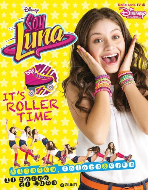 It's roller time. Soy Luna.