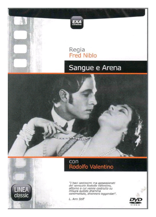 Sangue e Arena. DVD.