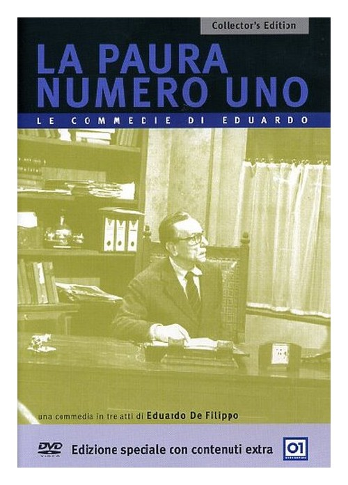 La Paura Numero uno (Collector'S Edition) DVD.