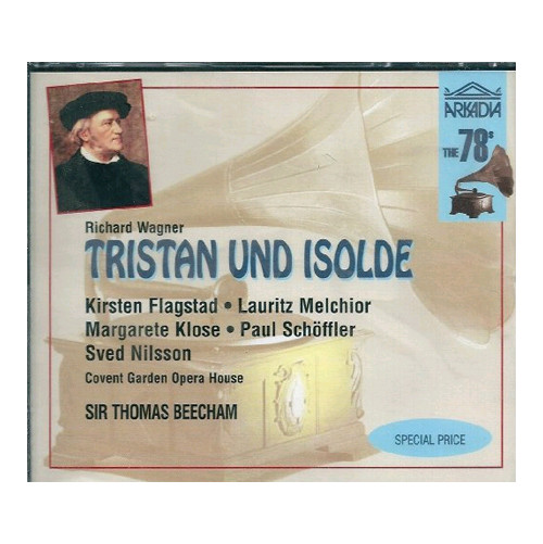 Richard Wagner. Tristan Und Isolde. 3CD.