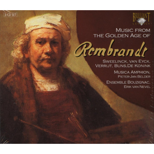 Music From the Golden Age of Rembrandt. 3CD.