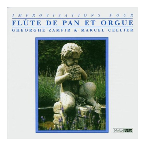 Improvisations Pour Flute De Pan Et Orgue. CD.