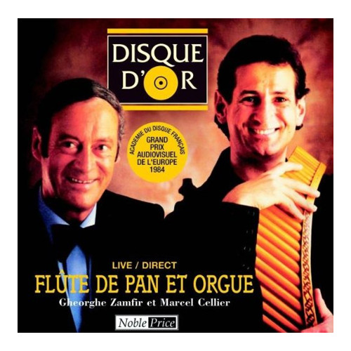 Live/direct Flute De Pan. CD.