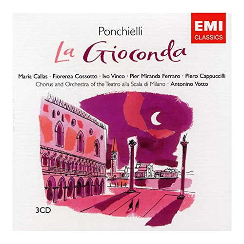 La Gioconda. Ponchielli 3 CD.