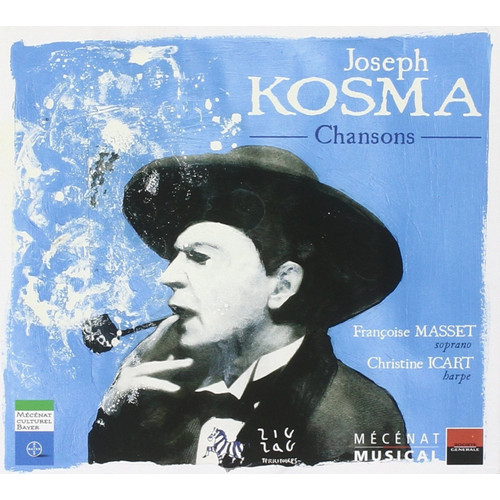 Joseph Kosma. Chansons. 1CD+1DVD.