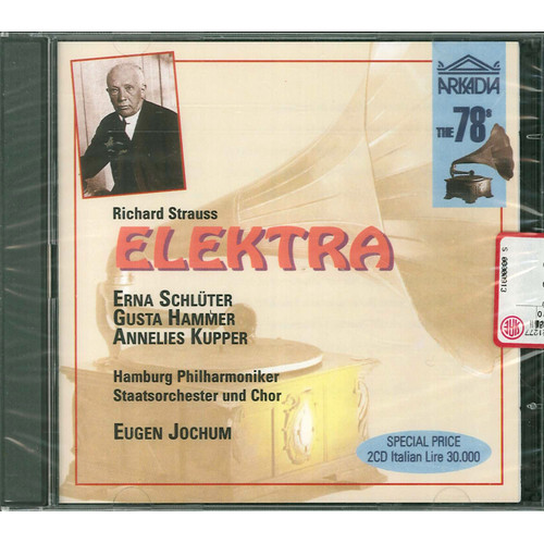 Richard Strauss. Elektra. 2 CD.