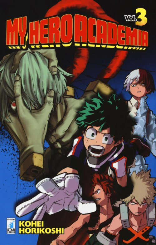 My Hero Academia. Vol. 3.