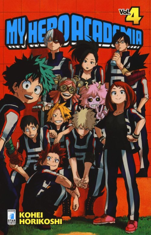 My Hero Academia. Vol. 4.