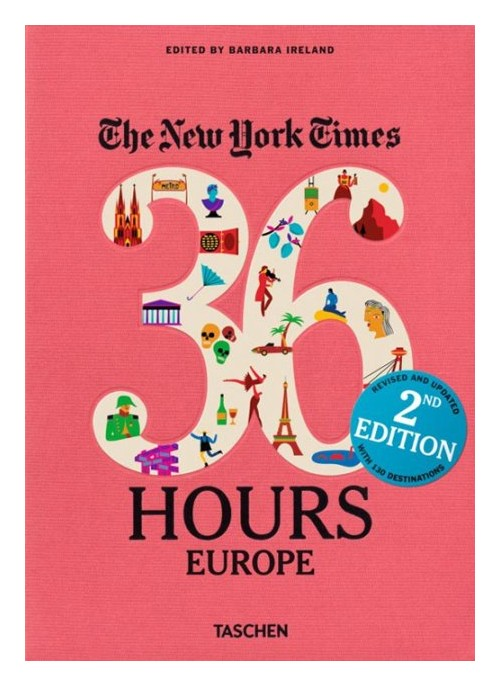 NYT 36 Hours Europe 2nd Edition.