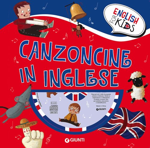 Canzoncine in inglese. Con CD Audio.